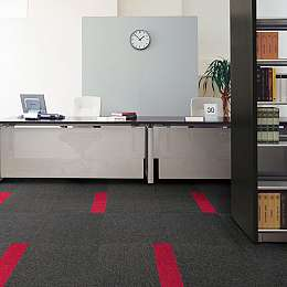 Stripe Line Carpet Tiles